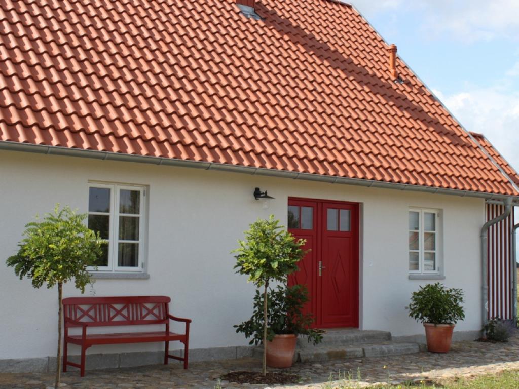 Rotes Haus am Meer Groß Schwansee an der Ostsee